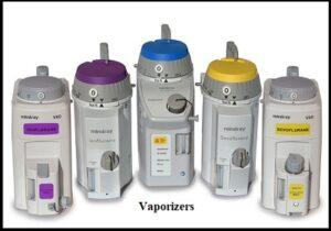 Vaporizer used in Anesthesia Machine