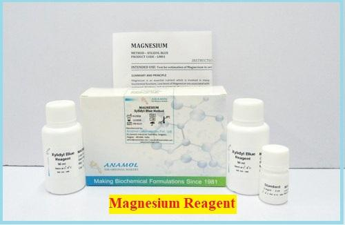 Magnesium:- Range, Cause, Symptom and Xylidyl Blue Method of Testing